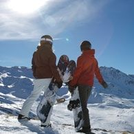 Afterski i Val Thorens